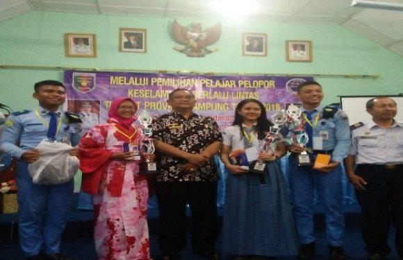 Lomba Pelajar Pelopor Lalu Lintas, Perwakilan Lamteng Sabet Juara 3