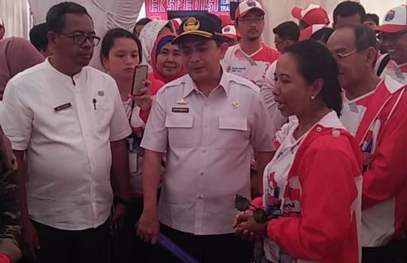 Rini Soemarno Tinjau JTTS di Bandaragung
