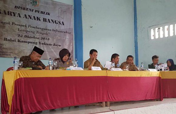 Himalat Lamteng Gelar Diskusi Publik, Bahas Masalah Infrastruktur