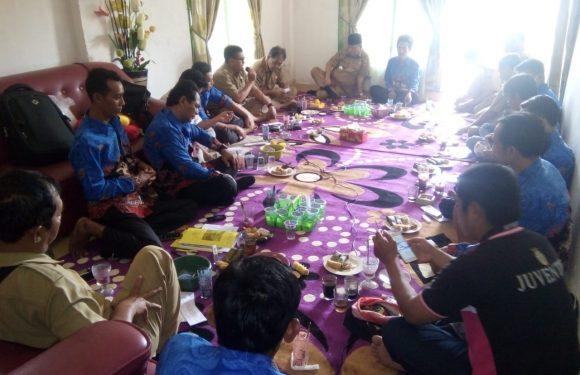 Bahas Program Kerja, Paduka Gelar Pertemuan di Kediamanan Sekkam Tanjungjaya