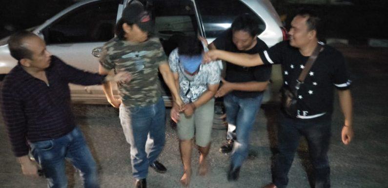 Resedivis Curat, Warga Waypengubuan diamankan Polsek Terbanggibesar