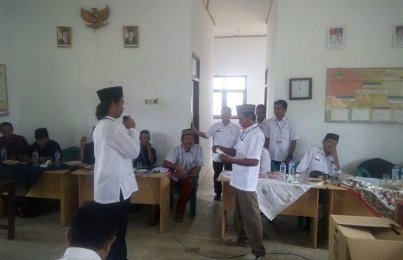 Kampung Sukanegri Gelar Pilkakam PAW