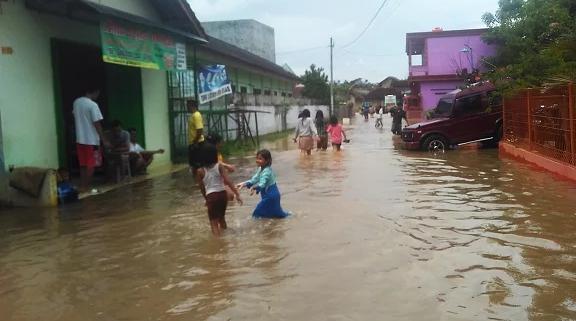 BPBD Pantau 5 Kecamatan di Lamteng yang Rawan Banjir