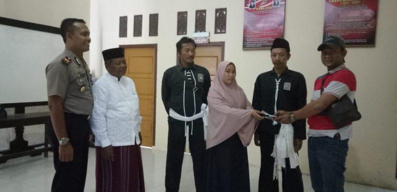 Ops Waspada Krakatau 2018, Polsek Rumbia Menerima Senpi Rakitan