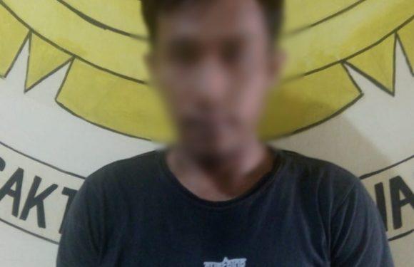 Asik Pesta Miras, Seorang Pemuda Dibekuk Polisi