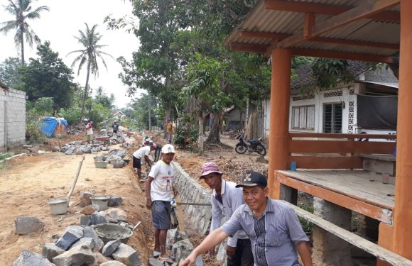 Gunawan Sukses Bangun Kampung Rukhti Endah Melalui ADD Tahun 2018