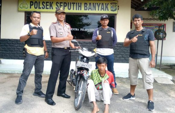Jual Motor Hasil Curat di Medsos, Remaja di Seputihbanyak Diciduk Polisi