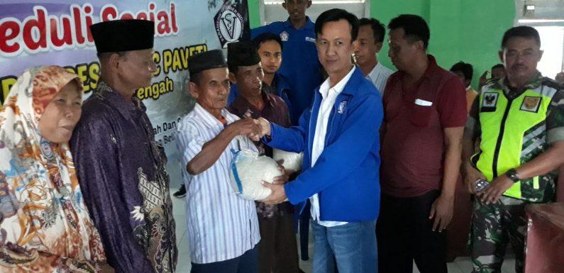 Pasca Puting Beliung, Paveti Lamteng Beri Bantuan Warga di Setia Bakti
