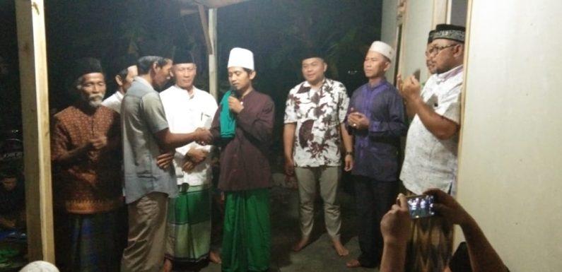 Gotong-royong Bangun Rumah Andi Supriyanto Rampung, Warga Gelar Doa Bersama