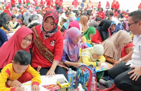 Ratusan Peserta Antusias Ikuti Festival Kreatifitas Anak Usia Dini Mama Mia