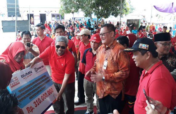 BRI Cabang Bandarjaya, ResmikanBRI Teras Nusantara di Sumberkaton