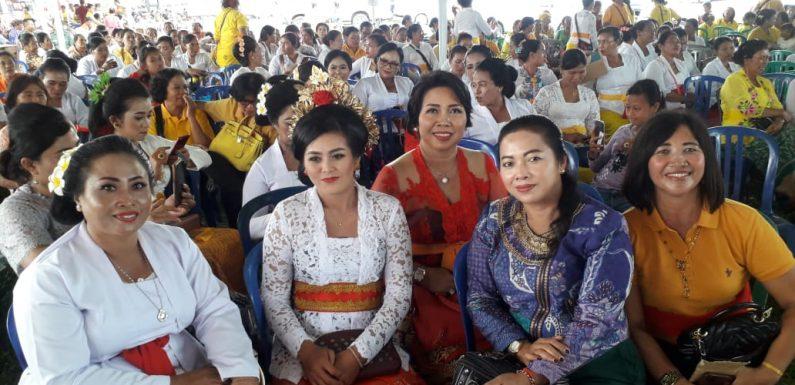 Lagi, Dukungan Ditunjukan Oleh Ibu ibu di Kecamatan Seputihraman
