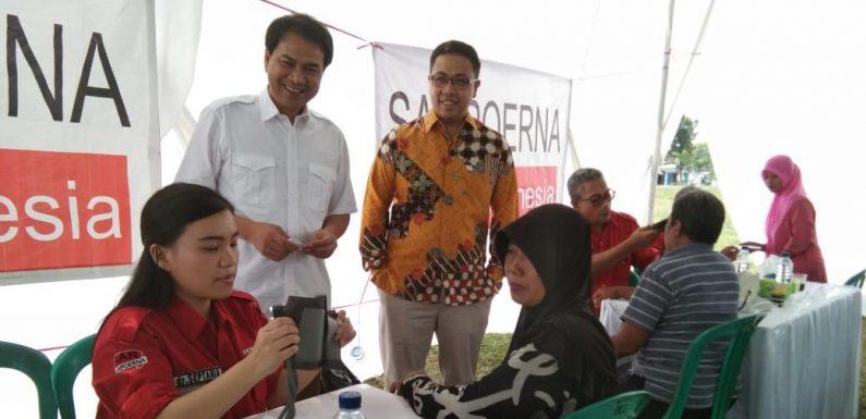 Aziz Syamsuddin Apresiasi Aksi Sosial Sampoerna di Rumbia