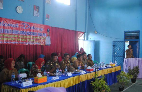 Kampung Bandarsari Wakili Kecamatan Padangratu Dalam Lomba BBGRM