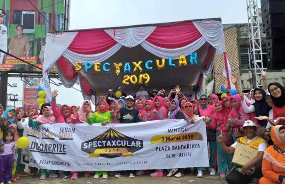 Ratusan Warga Ikuti Semarak Spectaxcular 2019 KP2KP Bandarjaya