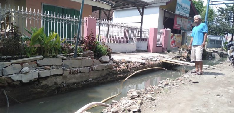 Pasca Dibongkar, Pembangunan Drainase Terbengkalai