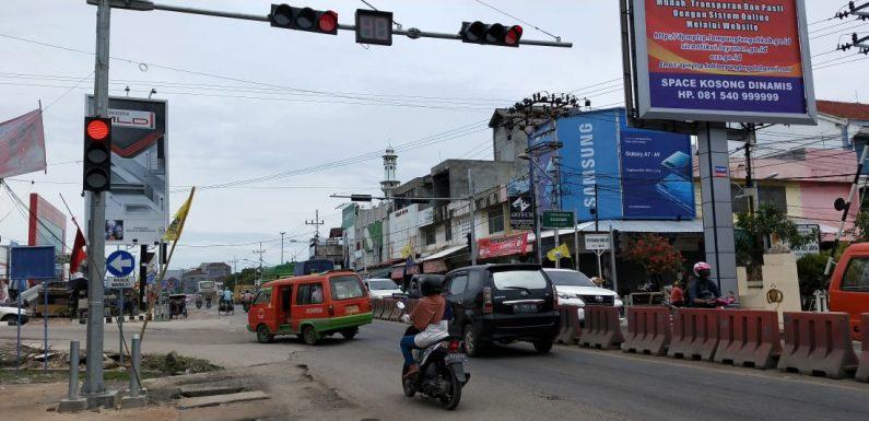 Sepekan Lagi Traffic Light Bandarjaya Segera Diaktifkan