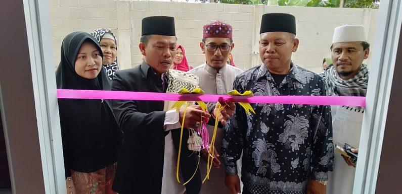 Kakam Liman Benawi Resmikan Masjid Rokidal Ngibadillah di Dusun V