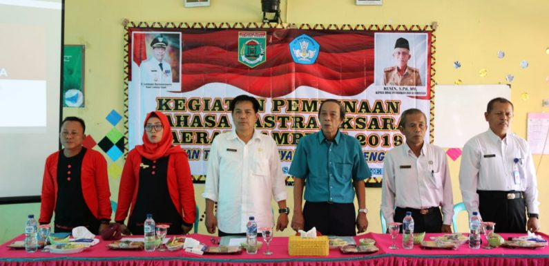 Disdikbud Gelar Pembinaan Sastra Bahasa dan Aksara Lampung untuk Dua Kecamatan