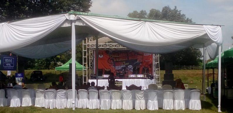 Diadakan di Lapangan Prosida Bandarjaya, Pagelaran Musik KPU Lamteng Sepi Pengunjung