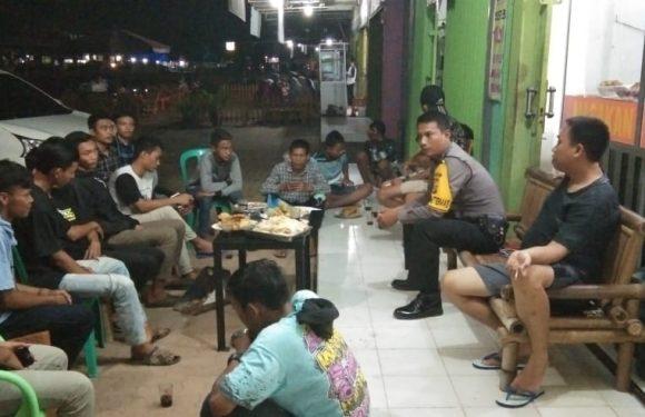 Bhabinkamtibmas Bubarkan Aksi Balap Liar di Lempuyang Bandar