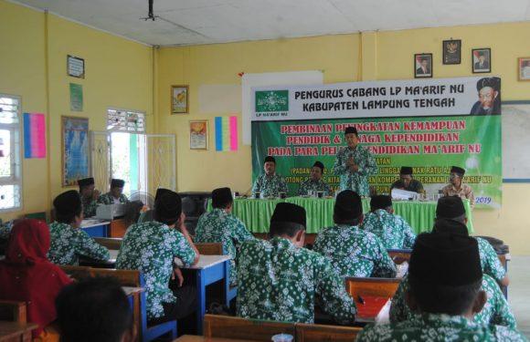 TMWC NU Padangratu Tuan Rumah Pembinan Tenaga Pendidik