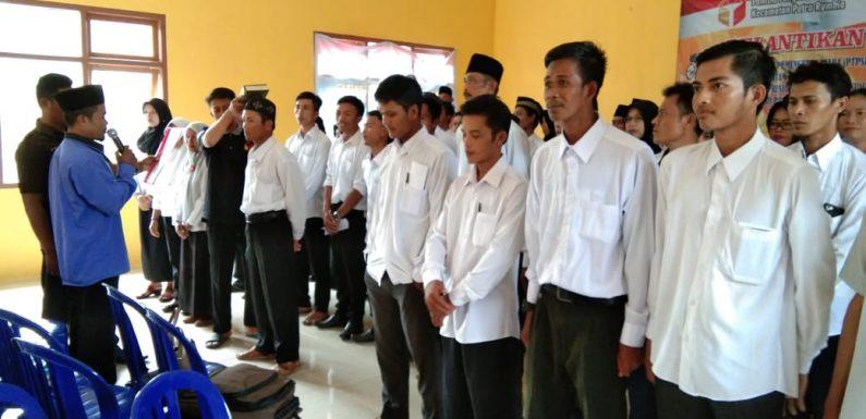 58 PTPS Kecamatan Putrarumbia Dilantik