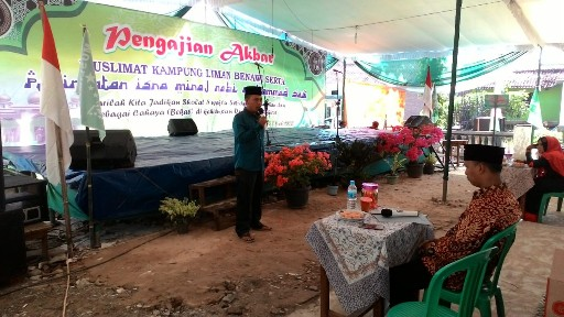 Peringati Isra Mi'raj, Kampung Liman Benawi Gelar Berbagai Lomba