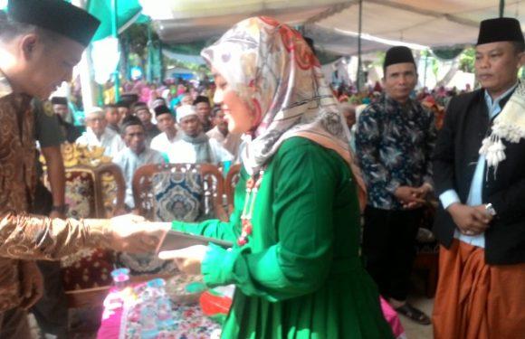 Muslimat NU Kampung Liman Benawi Gelar Pengajian Akbar