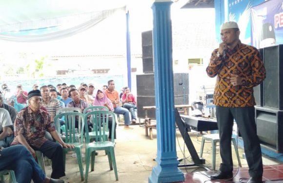 Caleg Demokrat Toni Sastra Jaya Gencar Lakukan Sosialisasi