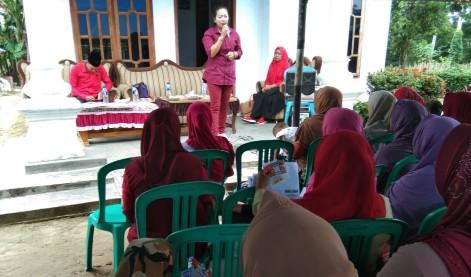 Ni Ketut Dewi Nadi Beri Pendidikan Politik ke Masyarakat di Srikencono