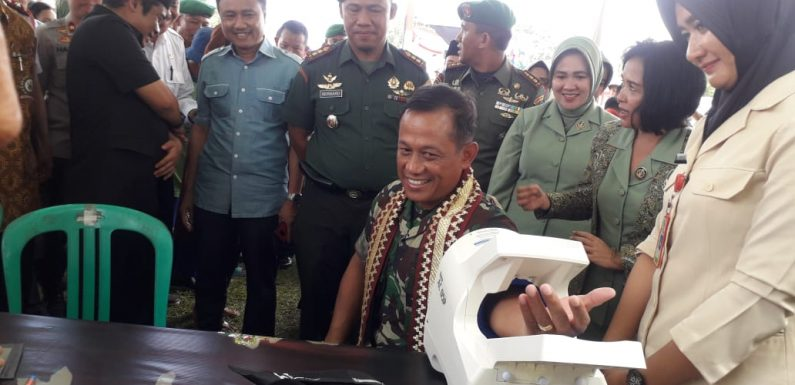 Hadir di HUT Persit KCK ke 73 Tahun di Punggur, Ini Pesan Danrem Gatam