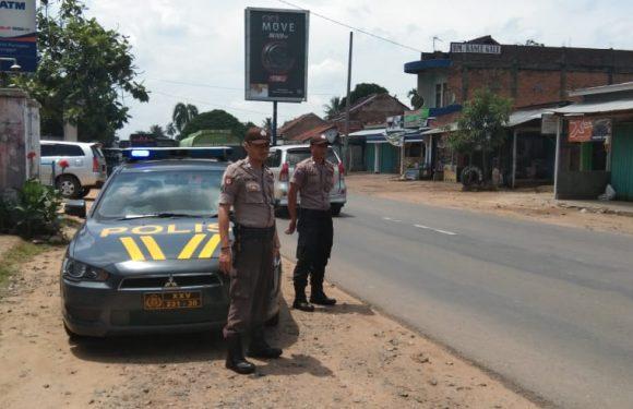 Jelang Pemilu 17 April, Polsek Waypegubuan Gencar Patroli