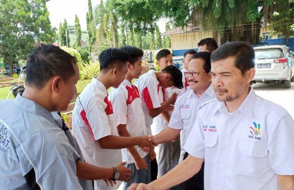 MKKS SMK Lamteng Kirim 12 Peserta Ikuti LKS Tingkat Provinsi