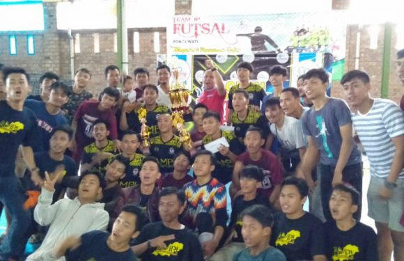 Tim Futsal TG AMPI Borong Juara di JP Open Tournament Cup 2019