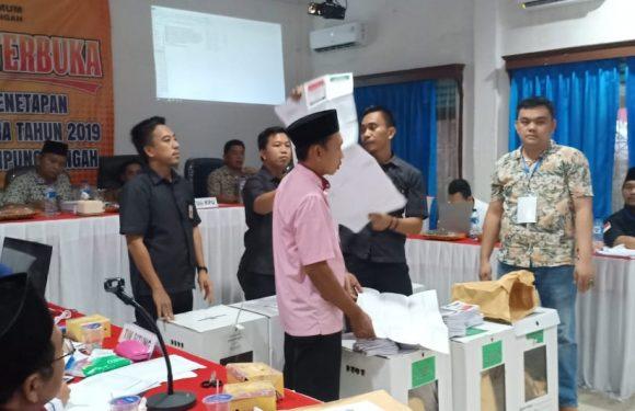 KPU Hitung Ulang Surat Suara di TPS Kalirejo
