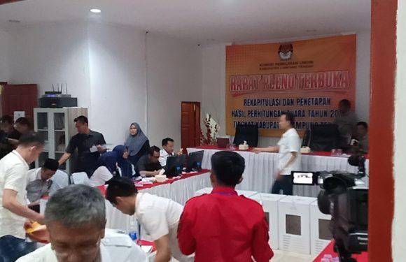 Rapat Pleno KPU Lamteng Deadlock