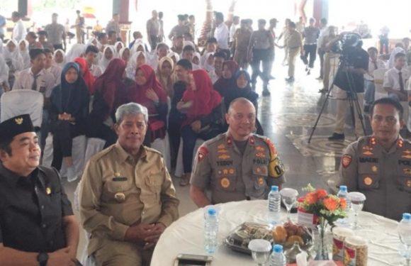 Wakapolda Lampung Minta Personel di TPS Rangkul Elemen Masyarakat