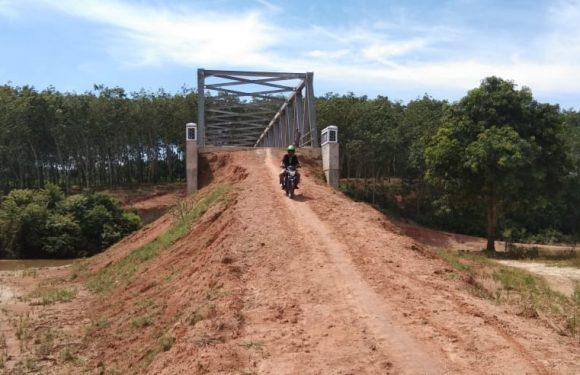 Badan Jalan Jembatan Kampung Putralempuyang Segera Dikerjakan Tahun 2019