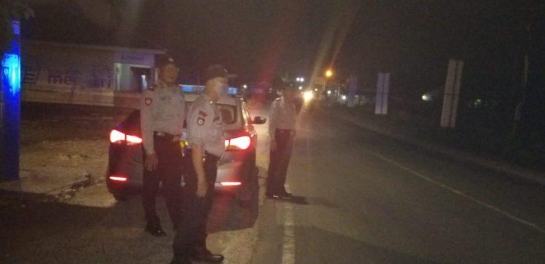 Antisipasi Tindak Kriminalitas, Polsek Trimurjo Giatkan Patroli