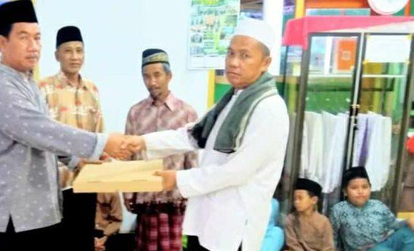 Camat Buminabung Safari Ramadan di Kampung Srikencono