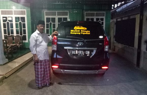 Layani Warga, Kakam Pujo Dadi Siapkan Kendaraan Siaga
