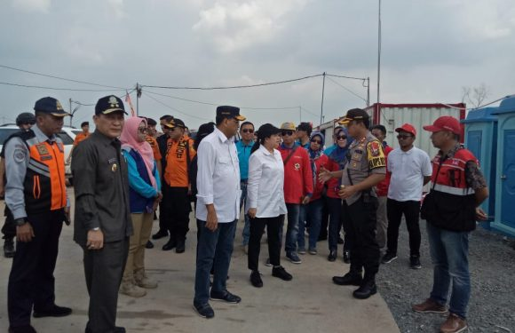 Sejumlah Mentri Cek Kesiapan Mudik di JTTS Lampung Tengah
