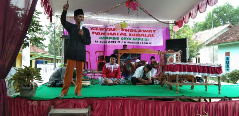 Ratusan Masyarakat Kampung Gaya Baru III Ikuti Gebyar Salawat