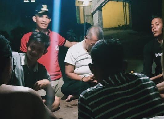 Hari Pertama Bertugas, Camat Seputihsurabaya Pantau Ronda