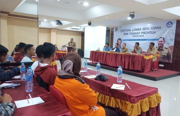 Yos Devera: Kontingen SMK Asal Lamteng Targetkan Sabet Juara Umum FLS2N Tingkat Provinsi
