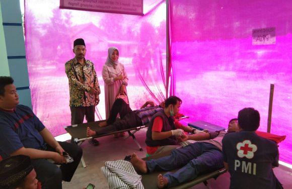 MTA Perwakilan Lamteng Adakan Donor Darah di Rumbia