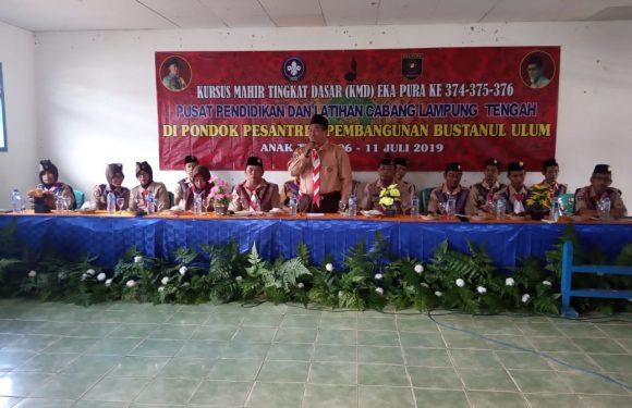 Gerakan Pramuka Gugus Depan Bustanul Ulum Gelar KMD
