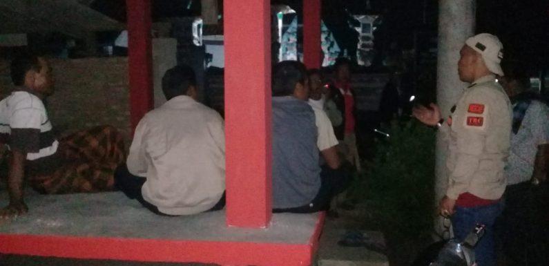 Pantau Ronda, Camat Seputihsurabaya Sosialisasikan Program Bupati Lamteng