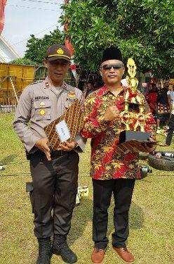 Kampung Sumber Katon Juara 3 Aktif Ronda Versi Polres Lamteng